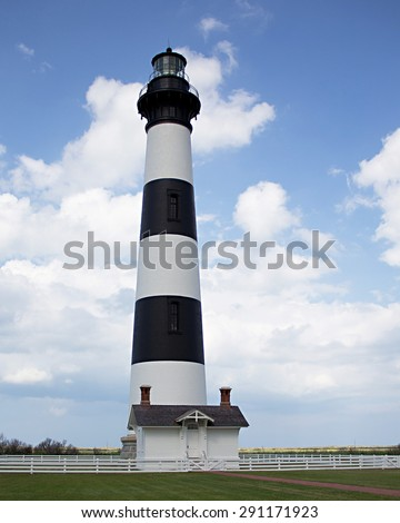 Bodie Island lighthouse - stock photo