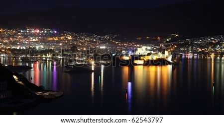Bodrum - stock photo