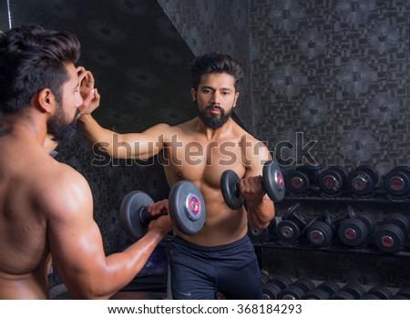 Body Builder - stock photo