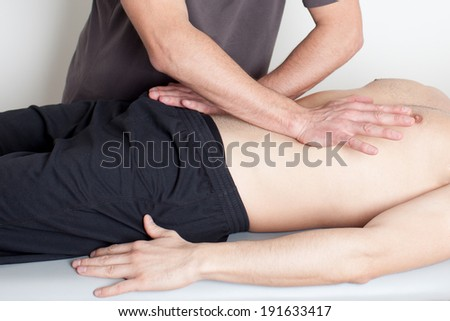 body manipulation - stock photo