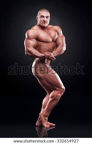 bodybuilder - stock photo
