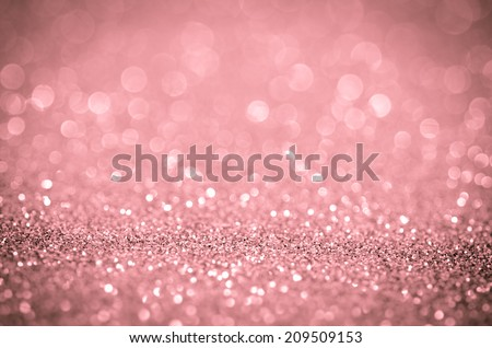 Bokeh abstract background wallpaper glitter diamond for wedding and Christmas festival design - stock photo