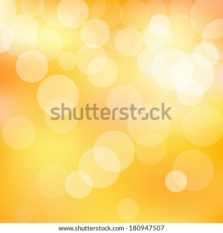 Bokeh background with defocused lights - stock photo