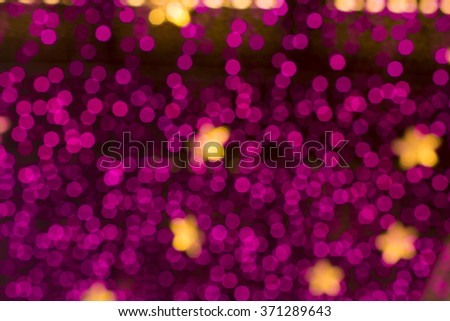 bokeh blackground - stock photo