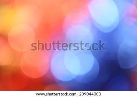 Bokeh colorful background - stock photo