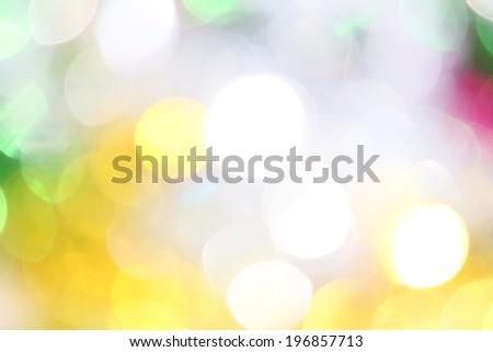 Bokeh colorful lights - stock photo
