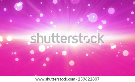 bokeh glowing background with forward direction effect - stock photo