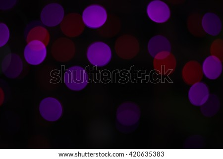 Bokeh light purple,red abstract background - stock photo