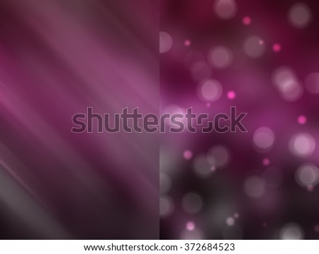 Bokeh light, shimmering blur spot lights on pink abstract background. - stock photo