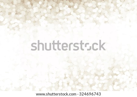 Bokeh light, shimmering blur spot lights on silver abstract background. - stock photo