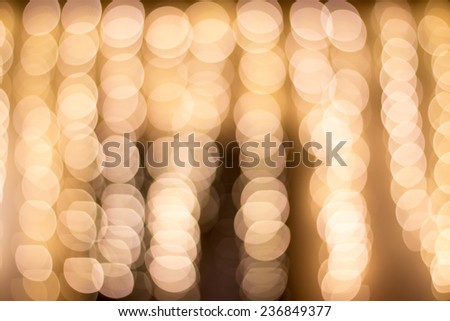 Bokeh lights vintage background. Christmas and New Year - stock photo