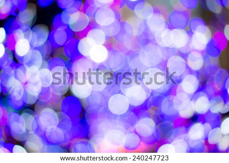 Bokeh purple light background. - stock photo