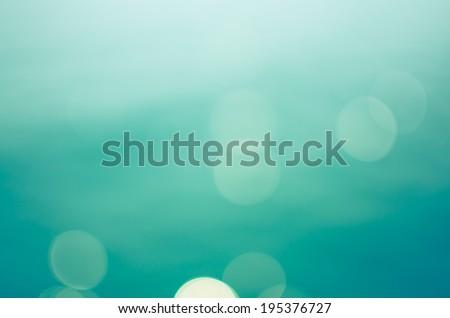 Bokeh sea , Background bokeh sea , Bokeh sea vintage - stock photo
