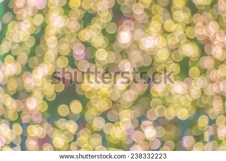 Bokeh soft focus made with pastel tones - stock photo