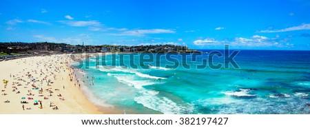 Bondi beach in Sydney,Australia. - stock photo