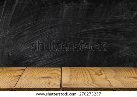 Book, chalkboard, blackboard. - stock photo