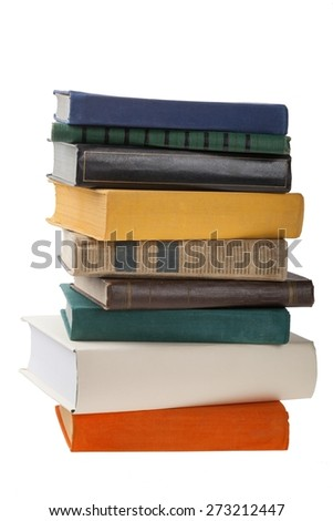 Book. Empty Book Covers (XXL Image) with Copyspace - stock photo