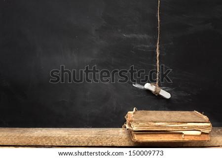 book in school  - stock photo