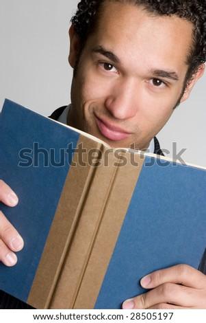 Book Man - stock photo