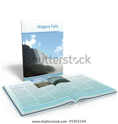 Book Niagara Falls - stock photo