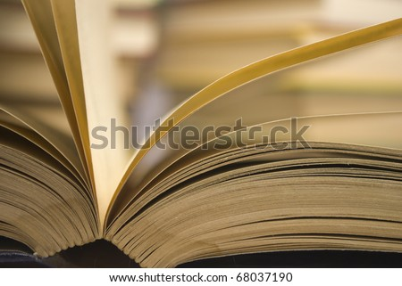 Book sheets - stock photo