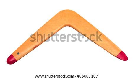 Boomerang - stock photo