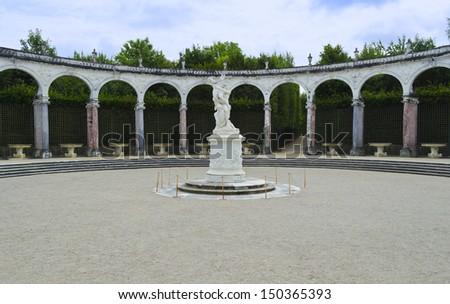 Bosquet de la Colonnade - Versailles, France - stock photo