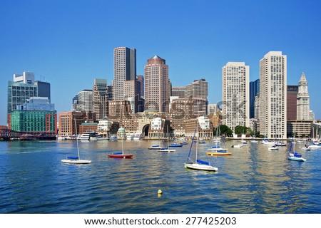 Boston - stock photo