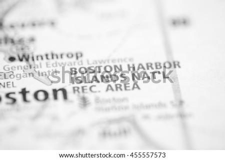 Boston Harbor Islands National Recreation Area. Massachusetts. U - stock photo