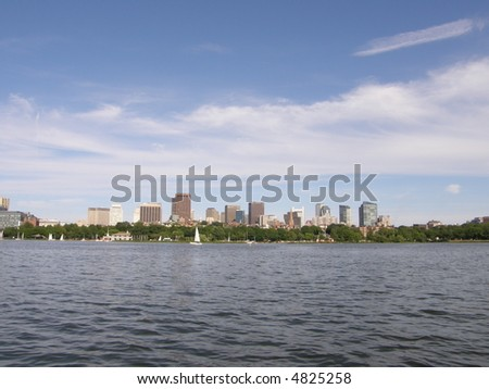 Boston in MA (USA) - stock photo