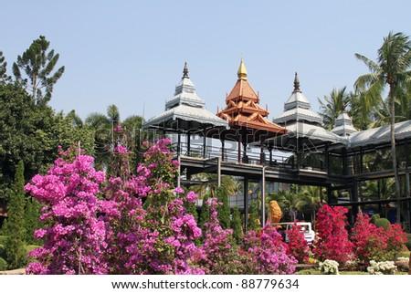 Botanic Park - stock photo