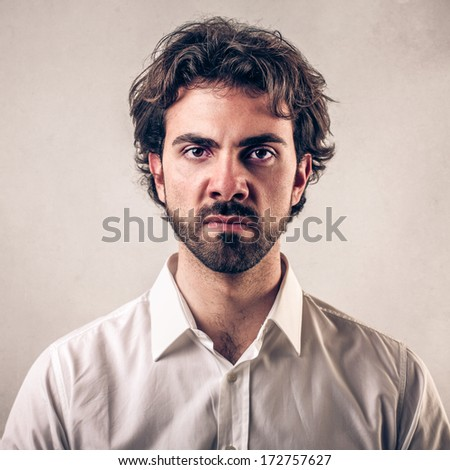 bothered - stock photo