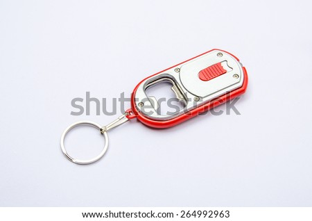 bottle opener - stock photo