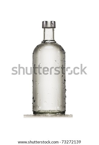 bottle with drops high quality. see more on my page - stock photo