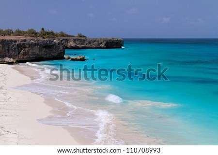 Bottom Bay - Barbados - stock photo