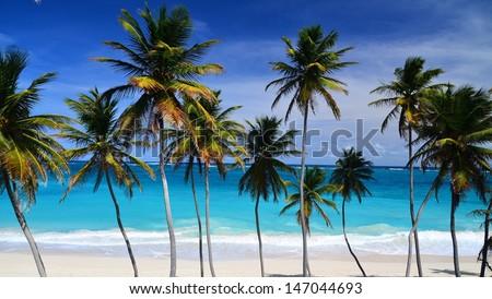 Bottom Bay, Barbados - stock photo