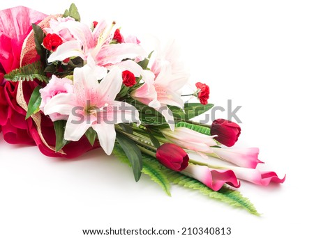 Bouquet flower  - stock photo