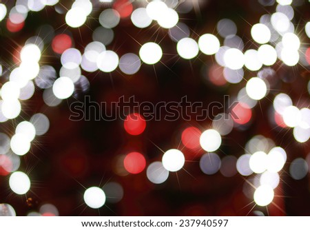 Bouquet of light from Chris Thomas, Festival, Chris Thomas and the New Year.  - stock photo