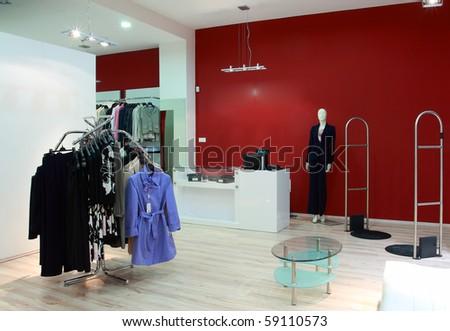 Boutique - stock photo