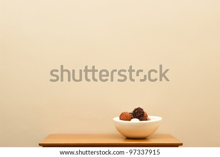 Bowl still life - stock photo