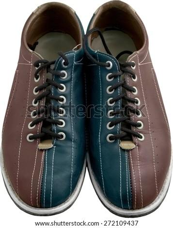 Bowling Shoe, Ten Pin Bowling, Shoe. - stock photo