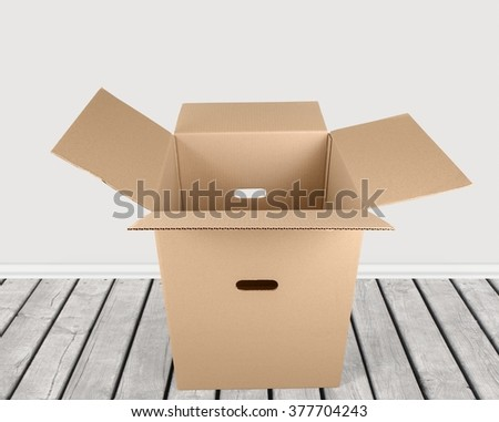 Box. - stock photo