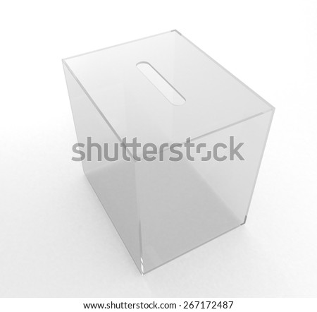 box for votes - stock photo