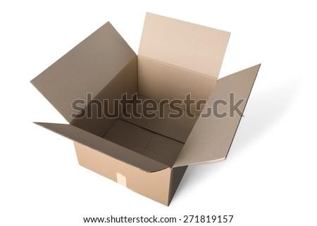 Box, Package, Cardboard Box. - stock photo
