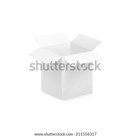 Box. Raster copy. - stock photo