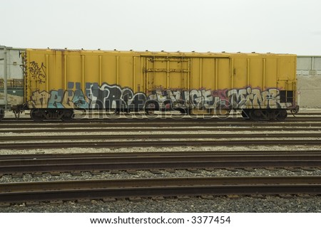 Boxcar - stock photo