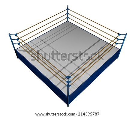 Boxing sport - stock photo
