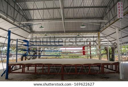 Boxing Stadium,Thailand - stock photo