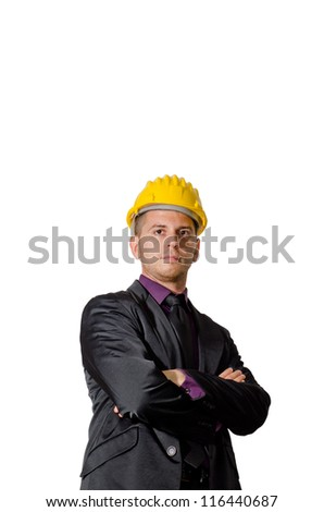boy at work - stock photo