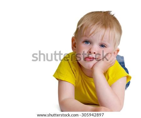 Boy child   - stock photo